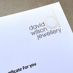 David Wilson Jewellery Gift Card